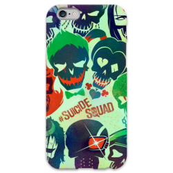 COVER SUICIDE SQUAD per iPhone 3g/3gs 4/4s 5/5s/c 6/6s Plus iPod Touch 4/5/6 iPod nano 7