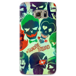 COVER SUICIDE SQUAD per SAMSUNG GALAXY SERIE S, S MINI, A, J, NOTE, ACE, GRAND NEO, PRIME, CORE, MEGA