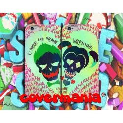 COVER DI COPPIA SUICIDE SQUAD per APPLE SAMSUNG HUAWEI LG SONY