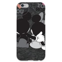 COVER MINNIE E TOPOLINO LOVE per iPhone 3g/3gs 4/4s 5/5s/c 6/6s Plus iPod Touch 4/5/6 iPod nano 7