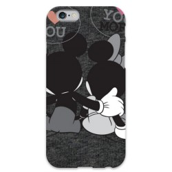 COVER MINNIE E TOPOLINO LOVE per iPhone 3g/3gs 4/4s 5/5s/c 6/6s Plus iPod Touch 4/5/6 iPod nano 7