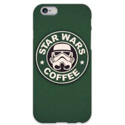 COVER STAR WARS COFFEE per iPhone 3g/3gs 4/4s 5/5s/c 6/6s Plus iPod Touch 4/5/6 iPod nano 7