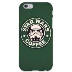 COVER STAR WARS COFFEE per iPhone 3g/3gs 4/4s 5/5s/c 6/6s Plus iPod Touch 4/5/6 iPod nano 7