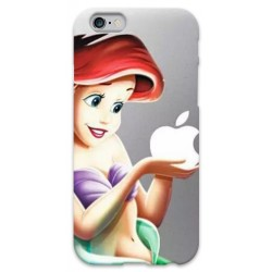 COVER ARIEL SIRENETTA APPLE per iPhone 3g/3gs 4/4s 5/5s/c 6/6s Plus iPod Touch 4/5/6 iPod nano 7