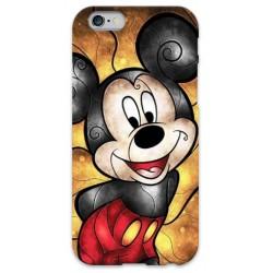 COVER TOPOLINO MICKEY per iPhone 3g/3gs 4/4s 5/5s/c 6/6s Plus iPod Touch 4/5/6 iPod nano 7