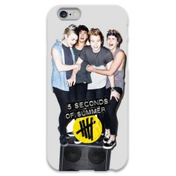 COVER 5 SECONDS OF SUMMER per iPhone 3g/3gs 4/4s 5/5s/c 6/6s Plus iPod Touch 4/5/6 iPod nano 7