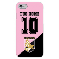 COVER PALERMO COL TUO NOME E NUMERO per iPhone 3g/3gs 4/4s 5/5s/c 6/6s Plus iPod Touch 4/5/6 iPod nano 7