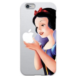 COVER BIANCANEVE APPLE per iPhone 3g/3gs 4/4s 5/5s/c 6/6s Plus iPod Touch 4/5/6 iPod nano 7