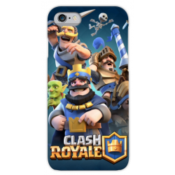 COVER Clash Royale per iPhone 3g/3gs 4/4s 5/5s/c 6/6s/7 Plus iPod Touch 4/5/6 iPod nano 7