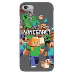 COVER MINECRAFT per iPhone 3g/3gs 4/4s 5/5s/c 6/6s/7 Plus iPod Touch 4/5/6 iPod nano 7