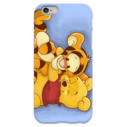 COVER WINNIE THE POOH E TIGRO per iPhone 3g/3gs 4/4s 5/5s/c 6/6s Plus iPod Touch 4/5/6 iPod nano 7