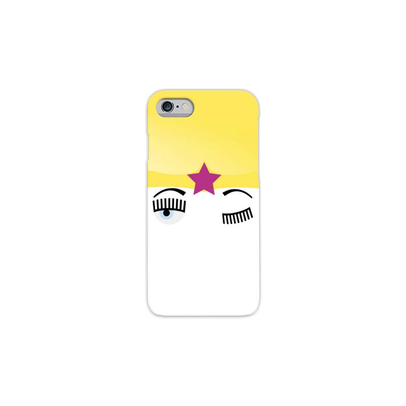 COVER TIPO CHIARA FERRAGNI per iPhone 3g/3gs 4/4s 5/5s/c 6/6s/7 Plus iPod Touch 4/5/6 iPod nano 7 - covermania