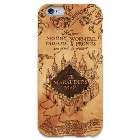 COVER HARRY POTTER MAPPA DEL MALANDRINO per iPhone 3g/3gs 4/4s 5/5s/c 6/6s Plus iPod Touch 4/5/6 iPod nano 7