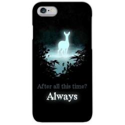 COVER POTTER CERVO PATRONUS ALWAYS per iPhone 3g/3gs 4/4s 5/5s/c 6/6s/7 Plus iPod Touch 4/5/6 iPod nano 7