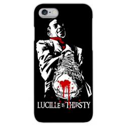 COVER NEGAN LUCILLE per iPhone 3g/3gs 4/4s 5/5s/c 6/6s/7 Plus iPod Touch 4/5/6 iPod nano 7