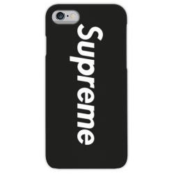 COVER SUPREME NERO per iPhone 3g/3gs 4/4s 5/5s/c 6/6s/7 Plus iPod Touch 4/5/6 iPod nano 7