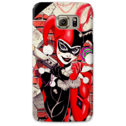 COVER HARLEY QUINN per SAMSUNG GALAXY SERIE S, S MINI, A, J, NOTE, ACE, GRAND NEO, PRIME, CORE