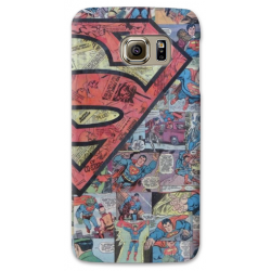 COVER SUPERMAN FUMETTI COMIC per SAMSUNG GALAXY SERIE S, S MINI, A, J, NOTE, ACE, GRAND NEO, PRIME, CORE
