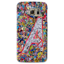 COVER AVENGERS FUMETTI COMIC per SAMSUNG GALAXY SERIE S, S MINI, A, J, NOTE, ACE, GRAND NEO, PRIME, CORE