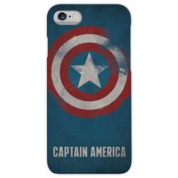 COVER CAPTAIN AMERICA per iPhone 3g/3gs 4/4s 5/5s/c 6/6s/7 Plus iPod Touch 4/5/6 iPod nano 7