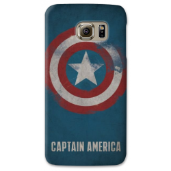 COVER CAPTAIN AMERICA per SAMSUNG GALAXY SERIE S, S MINI, A, J, NOTE, ACE, GRAND NEO, PRIME, CORE