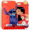 COVER DI COPPIA Lilo e Stitch per APPLE SAMSUNG HUAWEI LG SONY