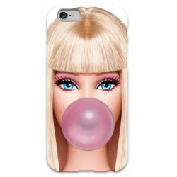 COVER BARBIE BUBBLEGUM per iPhone 3g/3gs 4/4s 5/5s/c 6/6s Plus iPod Touch 4/5/6 iPod nano 7