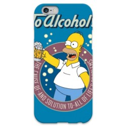COVER HOMER SIMPSON ALCHOL per iPhone 3g/3gs 4/4s 5/5s/c 6/6s Plus iPod Touch 4/5/6 iPod nano 7