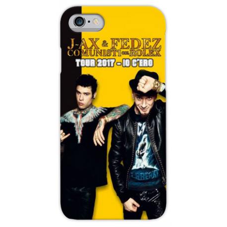 COVER J-AX FEDEZ TOUR 2017 IO C'ERO per iPhone 3g/3gs 4/4s 5/5s/c 6/6s/7 Plus iPod Touch 4/5/6 iPod nano 7