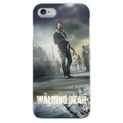 COVER The Walking Dead TWD per iPhone 3g/3gs 4/4s 5/5s/c 6/6s Plus iPod Touch 4/5/6 iPod nano 7