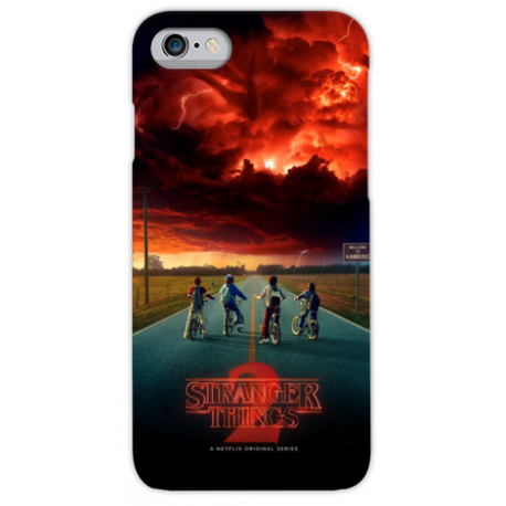 COVER STRANGER THINGS per iPhone 3g/3gs 4/4s 5/5s/c 6/6s Plus iPod Touch 4/5/6 iPod nano 7