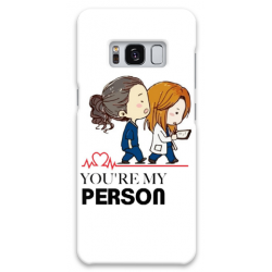 COVER GREY'S ANATOMY MY PERSON per ASUS HTC HUAWEI LG SONY BLACKBERRY NOKIA