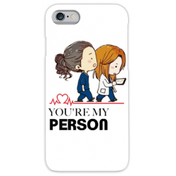 COVER GREY'S ANATOMY MY PERSON per iPhone 3g/3gs 4/4s 5/5s/c 6/6s Plus iPod Touch 4/5/6 iPod nano 7