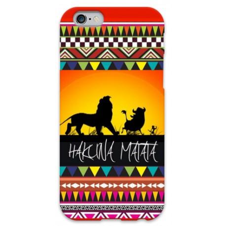 COVER HAKUNA MATATA per iPhone 3g/3gs 4/4s 5/5s/c 6/6s Plus iPod Touch 4/5/6 iPod nano 7