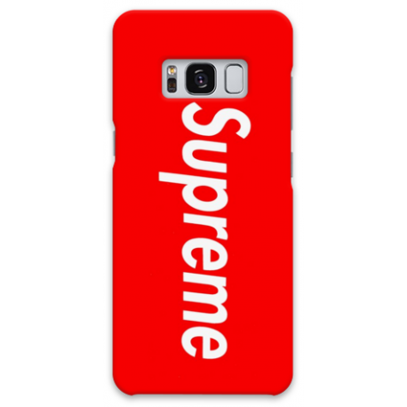 COVER SUPREME ROSSO per ASUS HUAWEI LG SONY WIKO NOKIA HTC BLACKBERRY