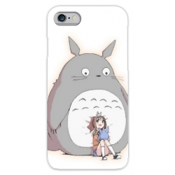 COVER TOTORO per iPhone 3gs 4s 5/5s/c 6s 7 8 Plus X iPod Touch 4/5/6 iPod nano 7