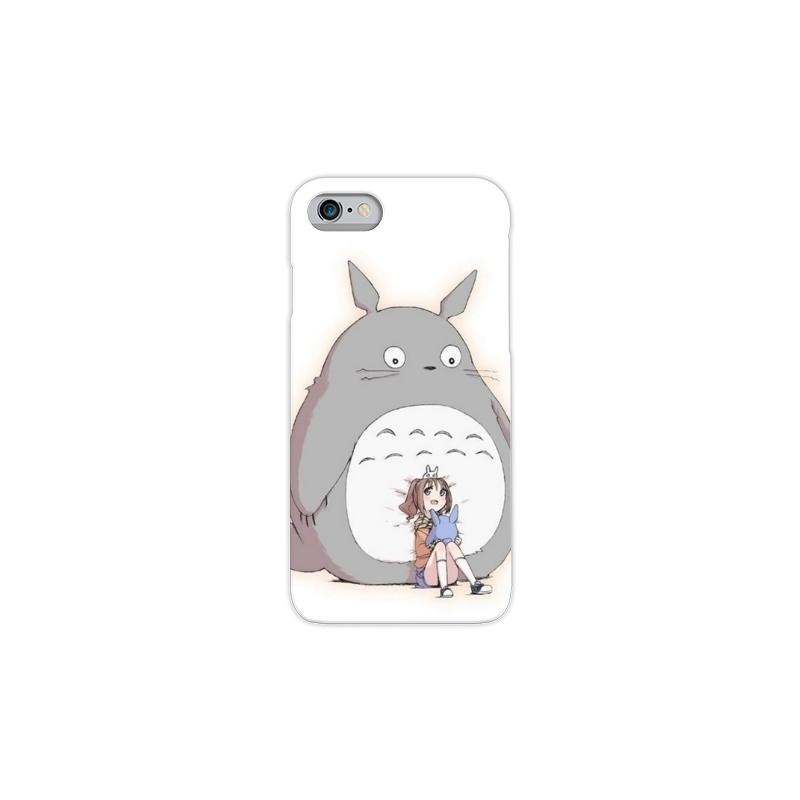 Cover morbida in gomma a forma di TOTORO IPhone 4 - 4S - 5 - 5S
