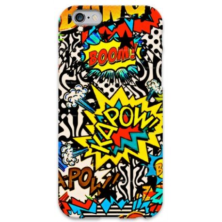 COVER BANG BOOM per iPhone 3g/3gs 4/4s 5/5s/c 6/6s Plus iPod Touch 4/5/6 iPod nano 7