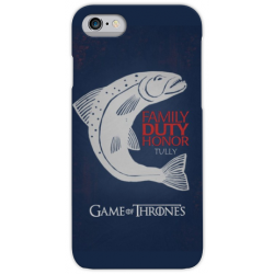 COVER GAME OF THRONES TULLY per iPhone 3gs 4s 5/5s/c 6s 7 8 Plus X iPod Touch 4/5/6 iPod nano 7