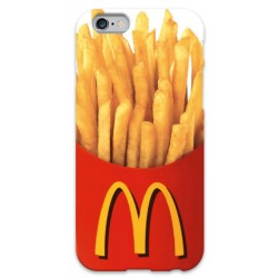 COVER PATATINE MC DONALD per iPhone 3g/3gs 4/4s 5/5s/c 6/6s Plus iPod Touch 4/5/6 iPod nano 7