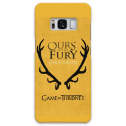 COVER GAME OF THRONES BARATHEON per SAMSUNG GALAXY SERIE S, S MINI, A, J, NOTE, ACE, GRAND NEO, PRIME, CORE, MEGA