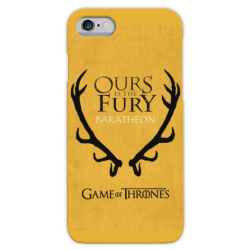 COVER GAME OF THRONES BARATHEON per iPhone 3gs 4s 5/5s/c 6s 7 8 Plus X iPod Touch 4/5/6 iPod nano 7