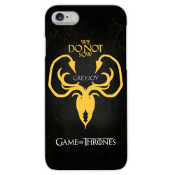 COVER GAME OF THRONES GREYJOY per iPhone 3gs 4s 5/5s/c 6s 7 8 Plus X iPod Touch 4/5/6 iPod nano 7