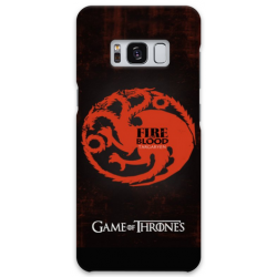 COVER GAME OF THRONES TARGARYEN per SAMSUNG GALAXY SERIE S, S MINI, A, J, NOTE, ACE, GRAND NEO, PRIME, CORE, MEGA