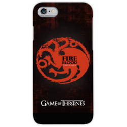 COVER GAME OF THRONES TARGARYEN per iPhone 3gs 4s 5/5s/c 6s 7 8 Plus X iPod Touch 4/5/6 iPod nano 7