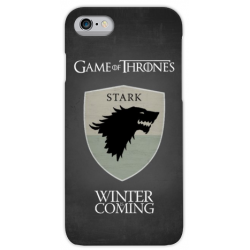 COVER GAME OF THRONES STARK per iPhone 3gs 4s 5/5s/c 6s 7 8 Plus X iPod Touch 4/5/6 iPod nano 7