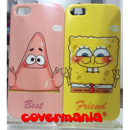 COVER DI COPPIA Spongebob e Patrick PER IPHONE 6/6S