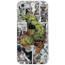 COVER HULK FUMETTI per iPhone 3gs 4s 5/5s/c 6s 7 8 Plus X iPod Touch 4/5/6 iPod nano 7