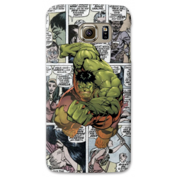 COVER HULK FUMETTI per SAMSUNG GALAXY SERIE S, S MINI, A, J, NOTE, ACE, GRAND NEO, PRIME, CORE, MEGA