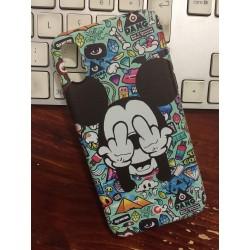 COVER MICKEY MOUSE GRAFFITI per iPhone 3gs 4s 5/5s/c 6s 7 8 Plus X iPod Touch 4/5/6 iPod nano 7